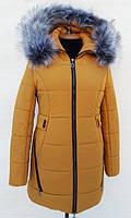 TM Ozze Куртка женская зимняя К 99 горчица