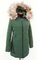 TM Ozze Куртка женская зимняя К 99 зеленая