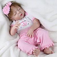 Кукла реборн сплюшка.Кукла,пупс reborn.код 953