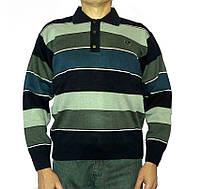 Мужской свитер King Wool (Турция) на пуговицах