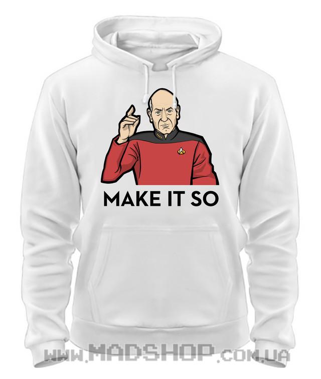 Толстовка Звездный путь Star Trek Make it so купить