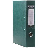 Папка регистратор  А4 Buromax 7см темно-зеленый
