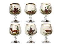 Набор бокалов для коньяка Nb Art Охота 6 штук 615-4351
