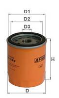 Фильтр масляный AF 264 (WL7324 W714/3 OC501 OP537)