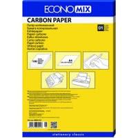 Папір копіювальний А4 Economix, 100 арк., чорний E20501-01