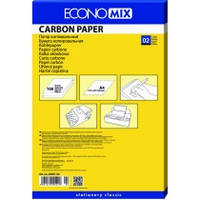 Папір копіювальний А4 Economix, 100 арк., синій E20501-02
