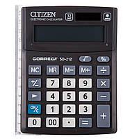 Калькулятор Citizen Correct SD 212