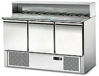 Саладетта/ Стол холодильный для пиццы 3-х дверный