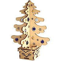 F-023 Набор новогоднее украшение из фанеры Новогодняя елка