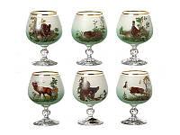 Набор бокалов для коньяка Nb Art Охота 6 штук 615-4361