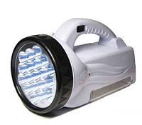 Фонарь аккумуляторный 222 (19+28 LED)