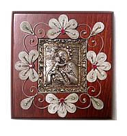 Владимирская икона Пресвятой Богородицы скань (Silver 925)
