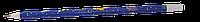 Карандаш графитовый Zibi COSMOS HB с ластиком туба KIDS Line