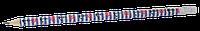 Карандаш графитовый MARINE HB, с ластиком , туба, KIDS Line (ZB.2304)