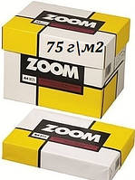 Офисная бумага формат а4  Zoom  пл. 75  500 лист
