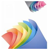 Набор цветной бумаги двухсторонней интенсив  А4  г/м² 80