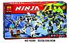 """Конструктор ниндзяго Ninja """"БИТВА МЕХАНИЧЕСКИХ ТИТАНОВ"""" (аналог лего Lego 70737) 757 деталей"""