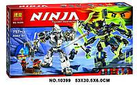 """Конструктор ниндзяго Ninja """"БИТВА МЕХАНИЧЕСКИХ ТИТАНОВ"""" (аналог лего Lego 70737) 757 деталей , фото 1"""