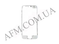 Рамка крепления дисплея iPhone 5S белая