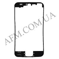 Рамка крепления дисплея iPhone 5S черная