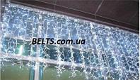 Светодиодная гирлянда Бахрома 3 м на 0,65 м 220 ламп разноцветная (штора)
