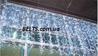 Гирлянда Бахрома светодиодная 3 м на 0,65 м 220 ламп (штора)