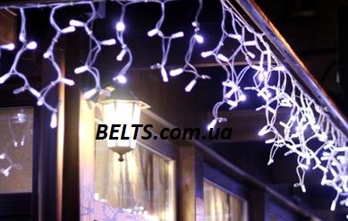Праздничная гирлянда Бахрома 3 м на 200 ламп (штора)