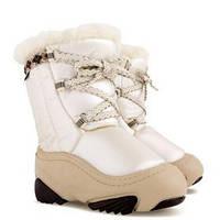 Зимние сапоги (сноубутсы) Demar Joy бежевые