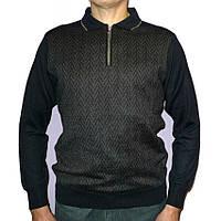 Стильный свитер Woolen World (Турция) с воротом на молнии