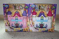 Замок SG-2955AB батар.муз.с мебелью, куклами кор.ш.к./8/