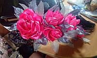 """Цветочная композиция в волосы """"Танец Роз"""""""