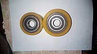 Ролик для гидравлической тележки, роклы, штабелера диаметр 70 мм с подшипниками 204