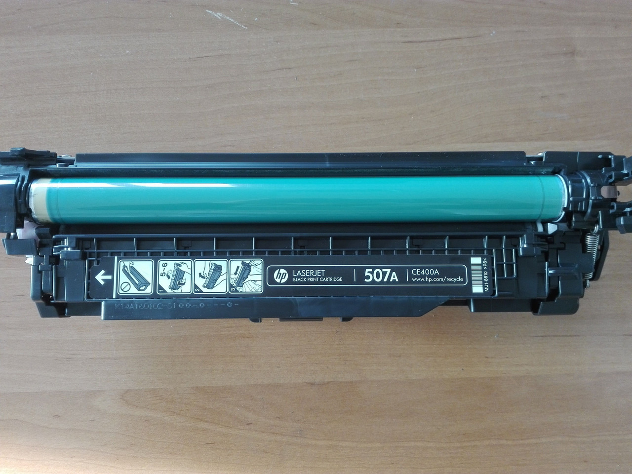 Картридж HP CE400A (507A) black