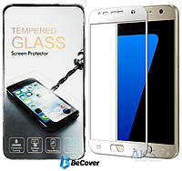 Защитное стекло BeCover 3D Full Cover Samsung G930 Galaxy S7 White