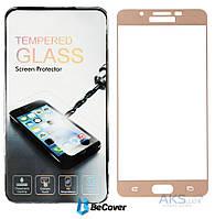 Защитное стекло BeCover 3D Full Cover Samsung A710 Galaxy A7 2016 Rose Gold