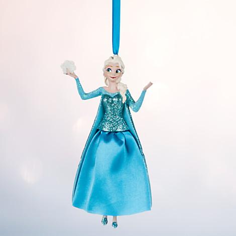 Эльза Холодное сердце елочная игрушка ДИСНЕЙ / DISNEY Frozen