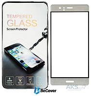 Защитное стекло BeCover 3D Full Cover Huawei Ascend P9 Silver