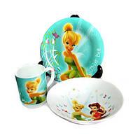 Disney Fairies Butterfly Набор для детей - 3 пр Luminarc H5839