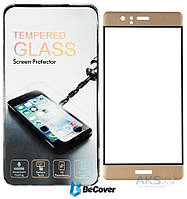 Защитное стекло BeCover 3D Full Cover Huawei Ascend P9 Gold