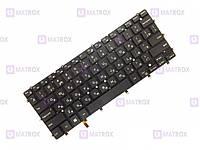 Оригинальная клавиатура для ноутбука Dell Inspiron 15-7547, 15-7548 series, rus, black, подсветка