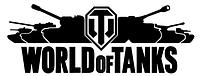 """Эксклюзивная наклейка """"WORLD of TANKS"""" #2 черная, фото 1"""