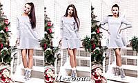 Женское платье туника новогоднее