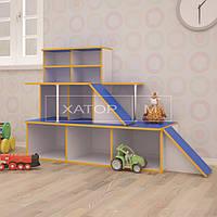 Игровая мебель для детского сада «Автосалон»