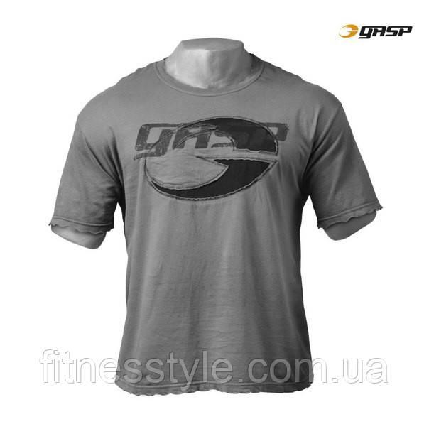Футболка GASP Power Wash Tee, Washed Grey