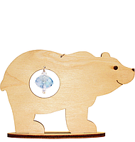 F-031 Набор новогоднее украшение из фанеры Медведь