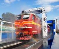 Установка для мойки вагонов и локомотивов