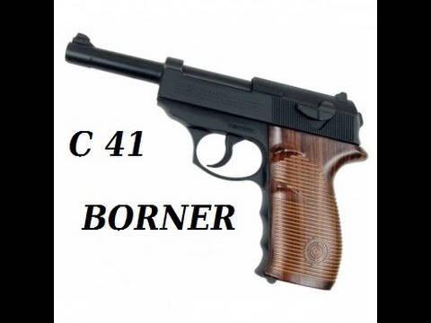 Пневматический пистолет С-41 BORNER