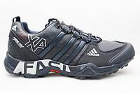 Зимние мужские кроссовки адидас (Adidas Gora-Tex SXA Black)