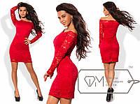 Красивое элегантное нарядное гипюровое платье, р-ры 42, 44, 46, 48