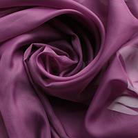 Однотонная тюль вуаль фиолет